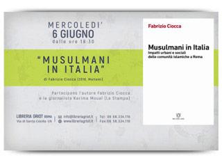 Presentazione del libro Musulmani in Italia